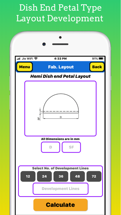 Fabrication Calculator screenshot 7