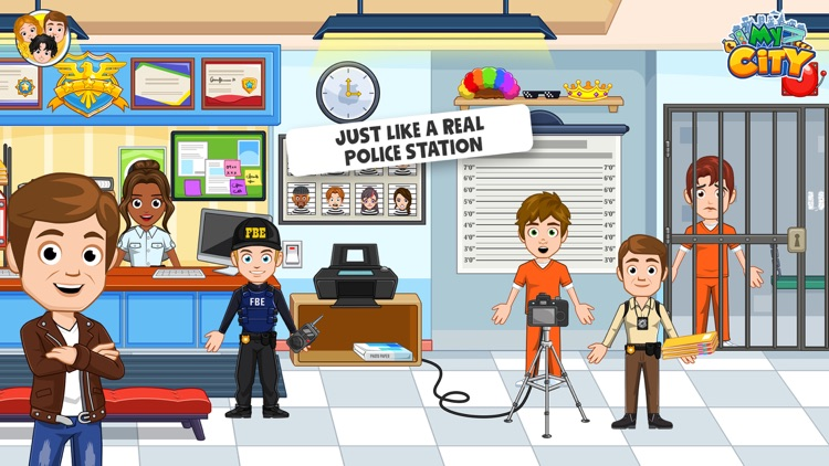 My City : Cops and Robbers