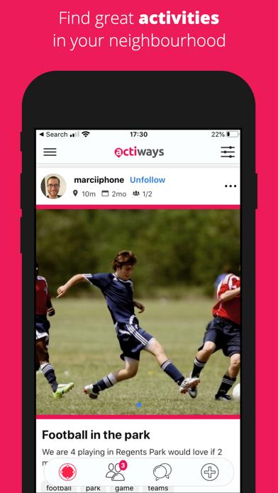 Actiways screenshot 4