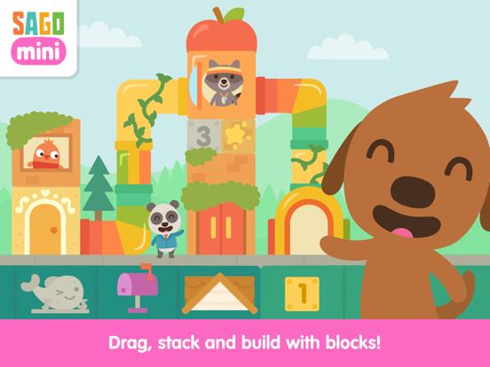 Sago Mini Neighborhood Blocks screenshot 7