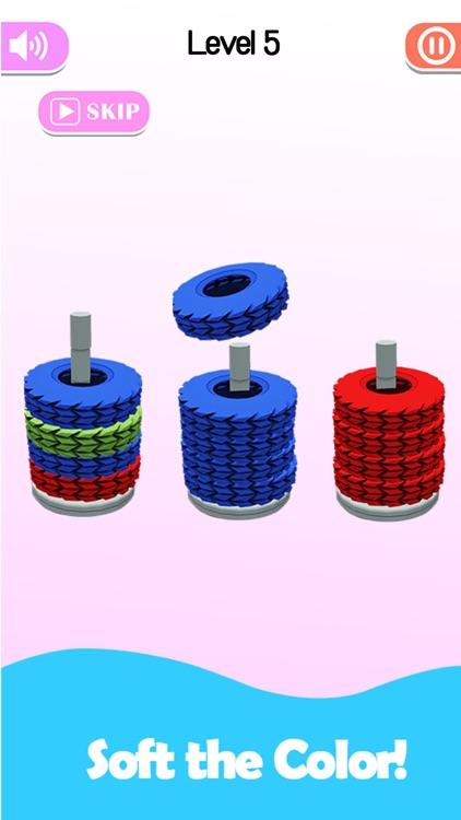 Stack Sort - Color Hoop