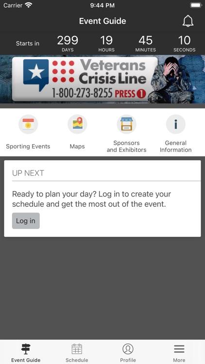 Natl Veterans Wheelchair Games screenshot-3