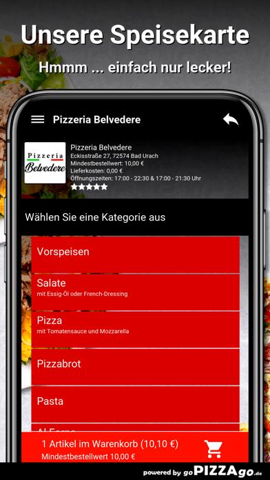 Pizzeria Belvedere Bad Urach screenshot 4
