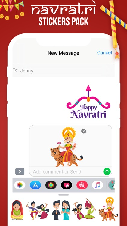 Navratri Stickers! screenshot-3