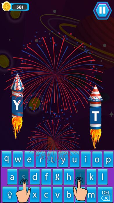 Space Typing:Speed Rocket screenshot 2