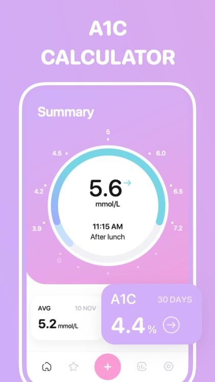 Glucose tracker++