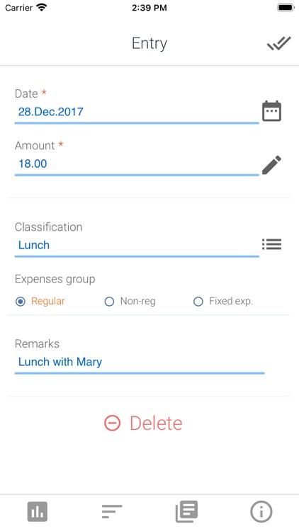ciysys Expenses Tracker screenshot-3