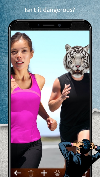 Animal Face Camera screenshot-4