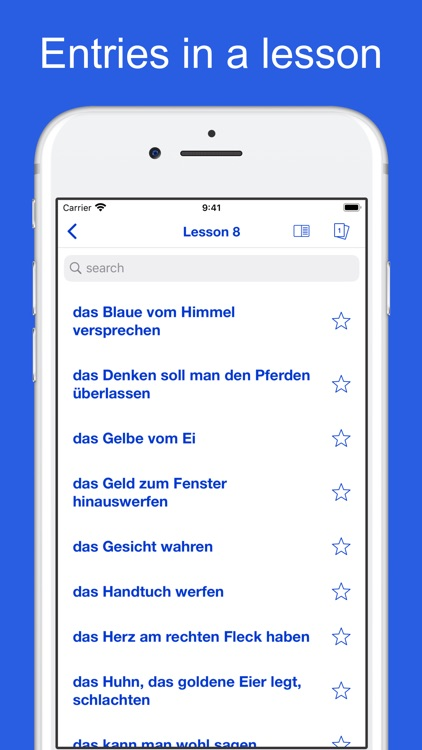 German Idioms, Proverbs screenshot-8