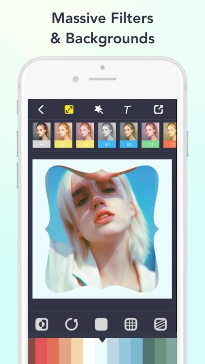 Lighto- Art photo shape editor