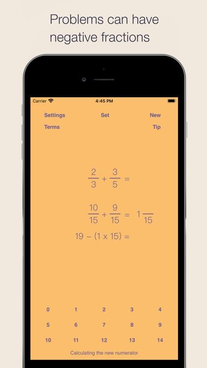 Fraction Math screenshot-5