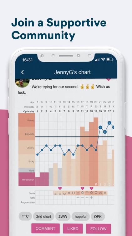Kindara: Fertility Tracker screenshot-4