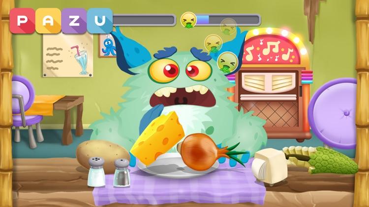 Cooking games for kids Monster screenshot-5