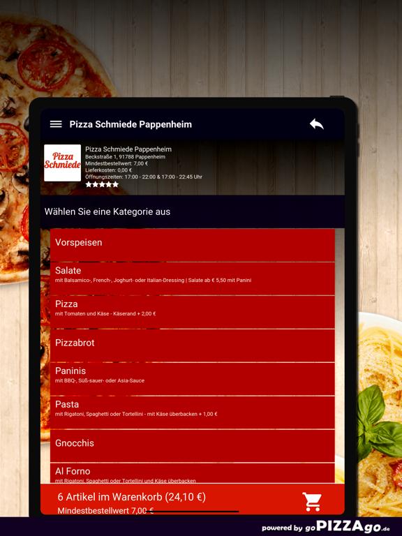 Pizza Schmiede Pappenheim screenshot 8