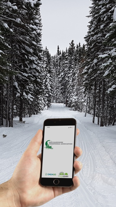 NH Snowmobile Trails 2021 Screenshot