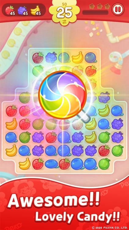 PEKO POP : Match 3 Puzzle screenshot-0
