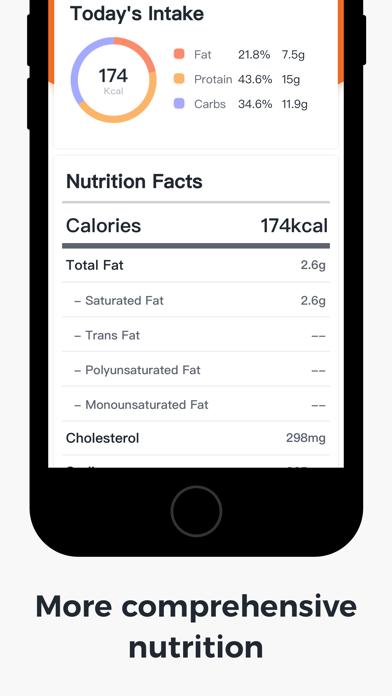 NuFit FoodScreenshot of 2