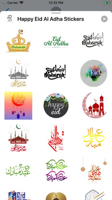 Happy Eid Al Adha Stickers screenshot 3