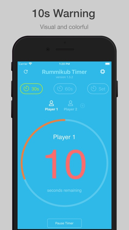 Rummikub Timer screenshot-4