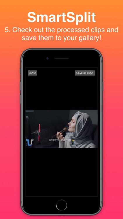 Smart-Split: Split Long Videos screenshot-6