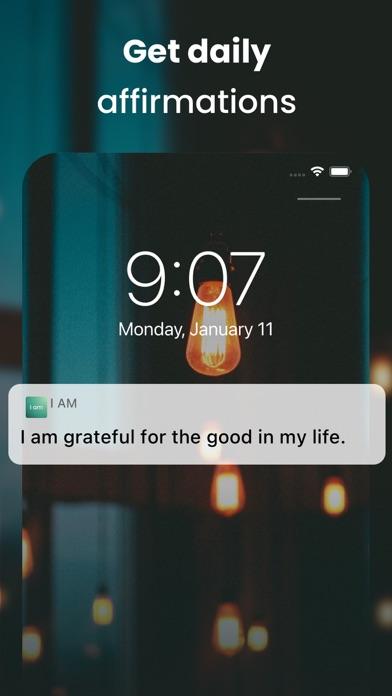 I am - Positive Affirmations Screenshot
