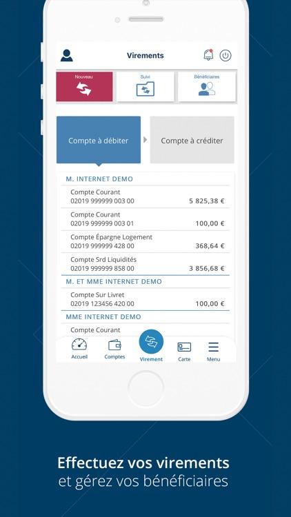 Banque Tarneaud pour iPhone screenshot-4