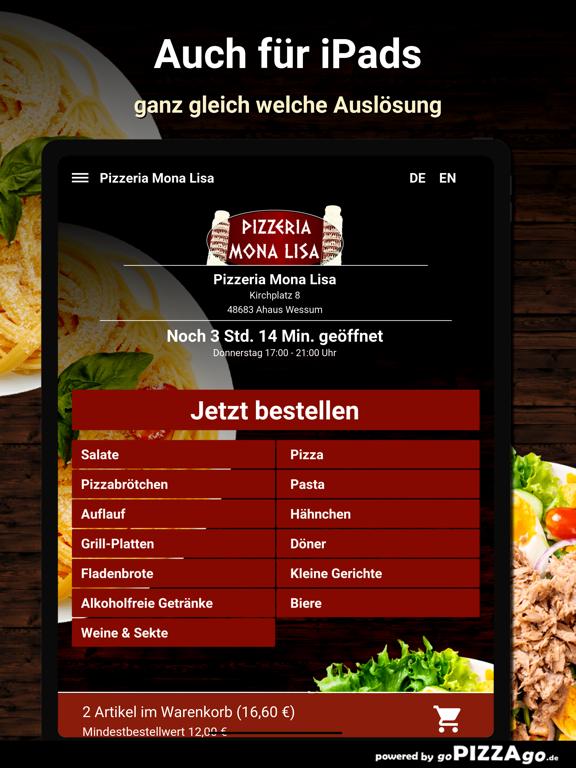 Pizzeria Mona Lisa Wessum screenshot 7