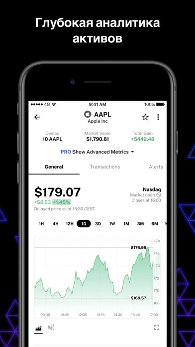 Delta инвестиционный трекерСкриншоты 4