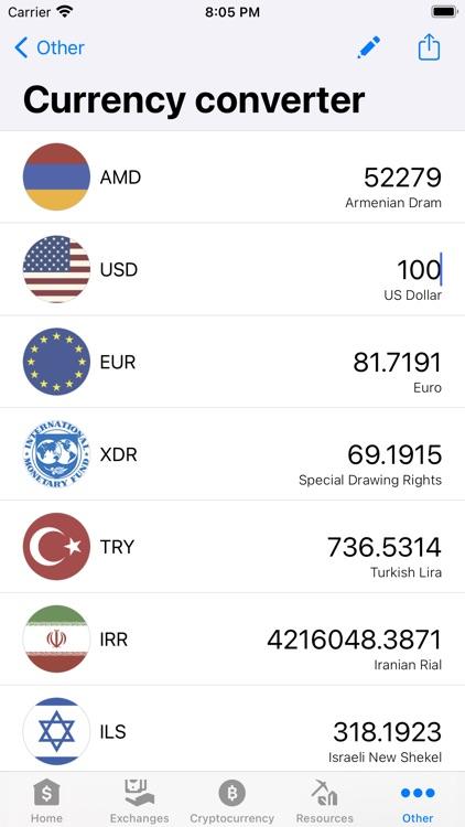 Exchange rates of Armenia screenshot-3