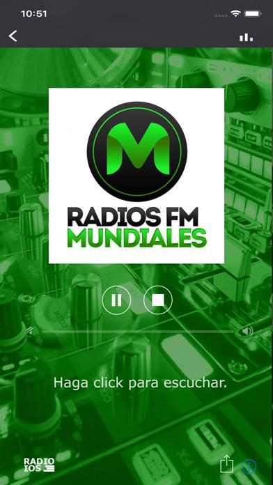 Radios FM Mundiales Screenshot