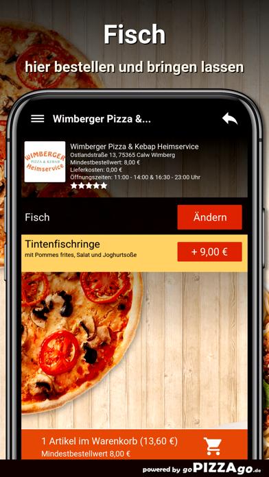 Wimberger Pizza Calw Wimberg screenshot 6