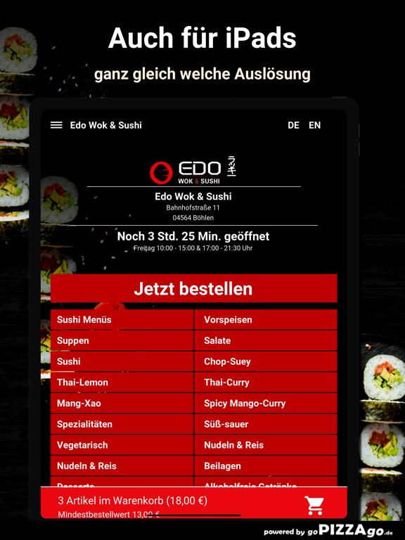 Edo Wok & Sushi Böhlen screenshot 7