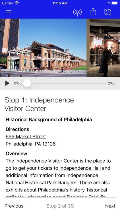 Walking Tour of Philadelphia screenshot-4