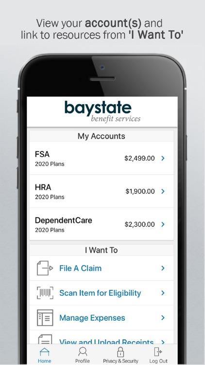 Baystate Benefits Mobile