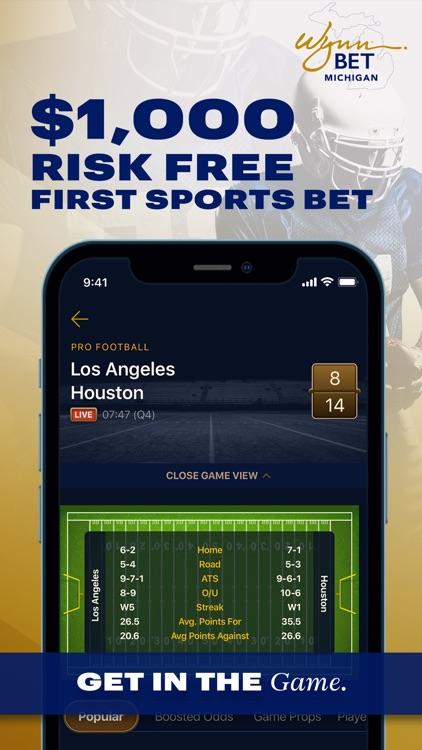 WynnBET:MI Sportsbook & Casino