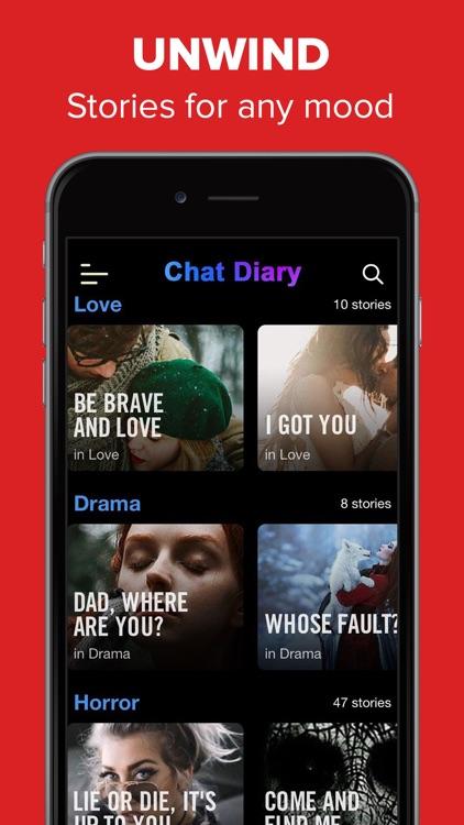 Chat Stories - Creepypasta i.t screenshot-3