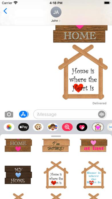 Home Stickers! screenshot 5