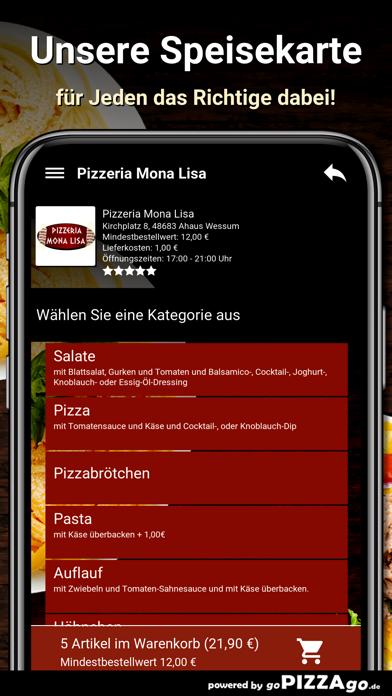 Pizzeria Mona Lisa Wessum screenshot 4
