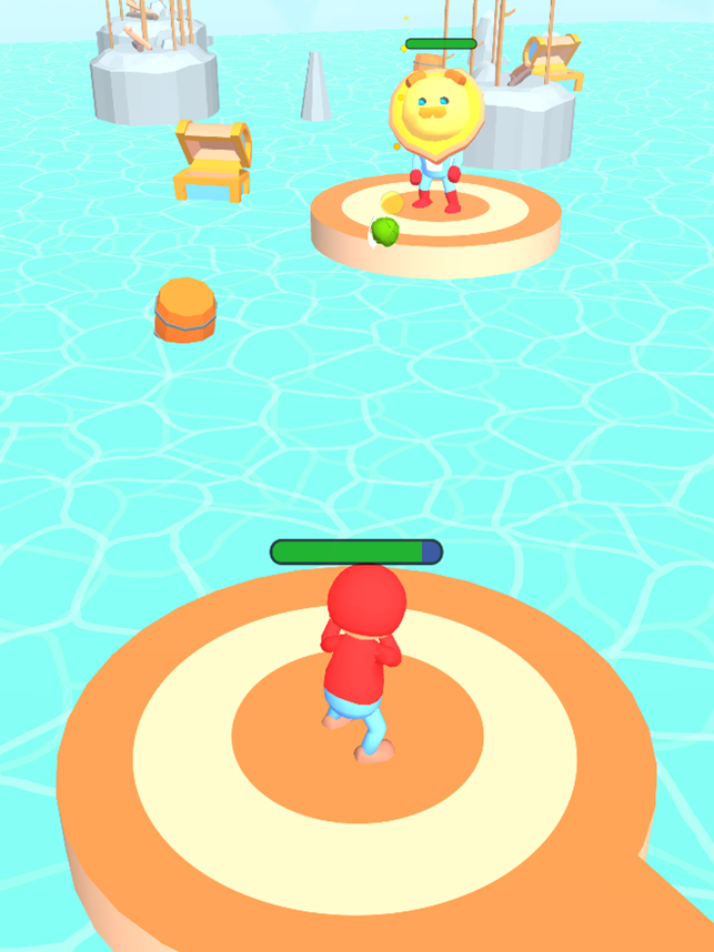 Bomb Fighting 3D, game for IOS