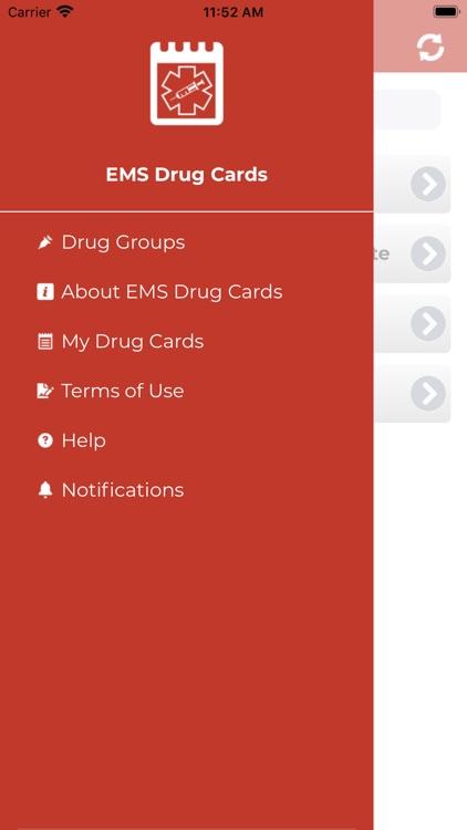 EMS Drug Cards