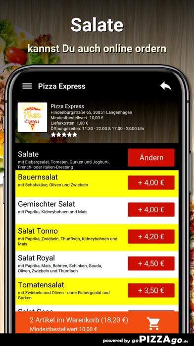 Pizza Express Langenhagen screenshot 5
