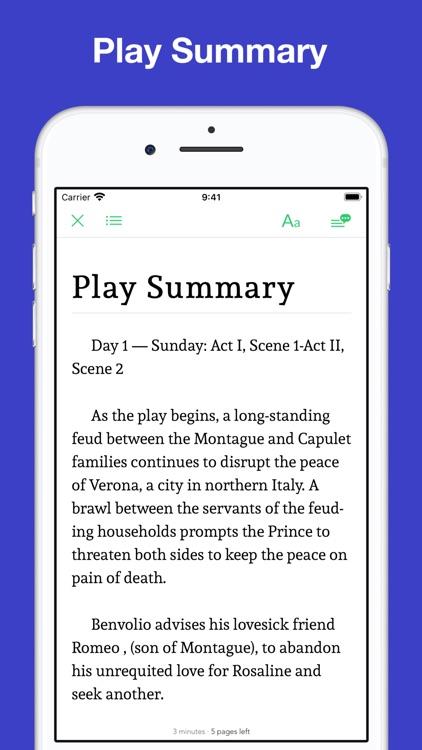Romeo and Juliet: study notes screenshot-4