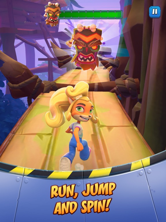 iPad Image of Crash Bandicoot: On the Run!