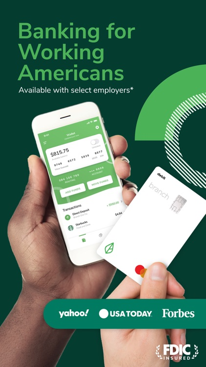 Branch: Banking & Instant Pay screenshot-0