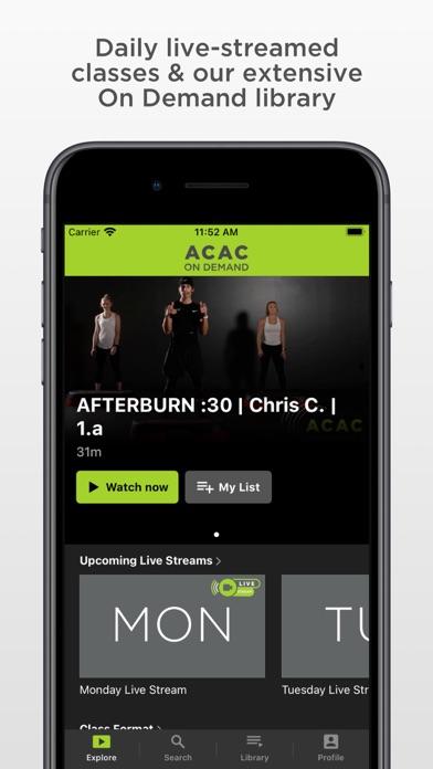 ACAC On Demand screenshot 2