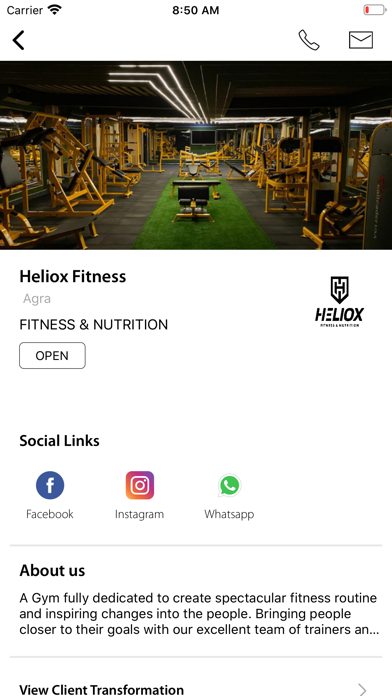 Heliox Fitness screenshot 3