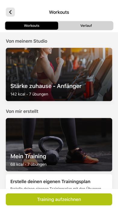 Grobe Fitness AppScreenshot von 7