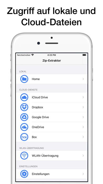 Zip- und RAR-Datei-ExtraktorScreenshot von 1