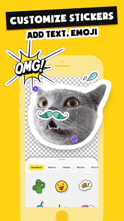 Stickers Funny of Meme & Emoji screenshot-4