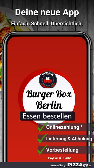 Berlin Burger Box Berlin screenshot 1
